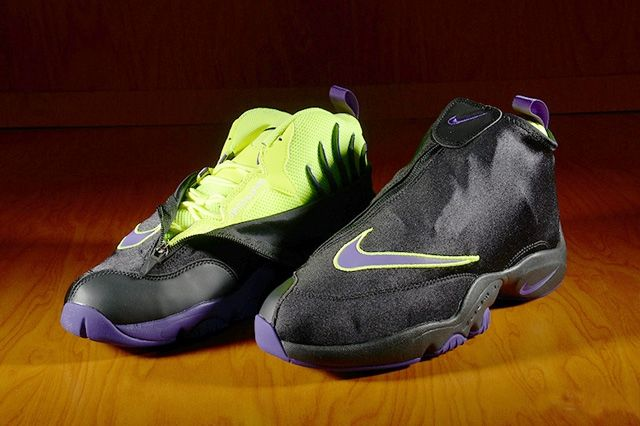 Nike Air Zoom Flight The Glove Lakers 4