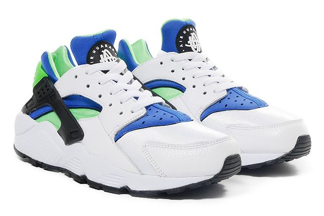Nike Air Huarache Og Scream Green 2014 Retro 51