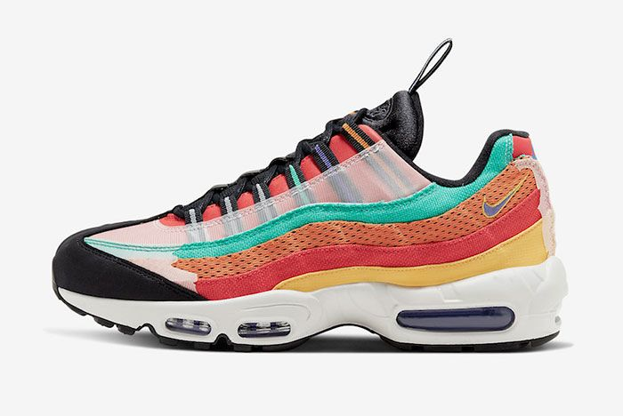 Nike Air Max 95 Bhm Black History Month 2020 Ct7435 901 Lateral Side Shot