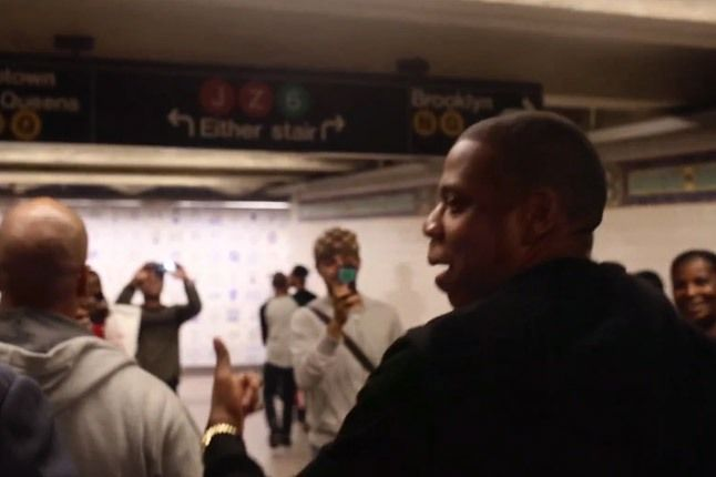 Jay Z Subway Walking 1