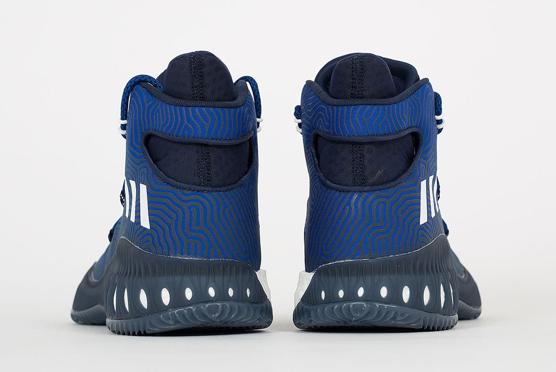 Adidas Crazy Explosive Boost Blue White