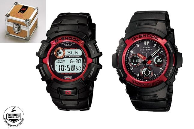 New G Shock Fire Pack 1