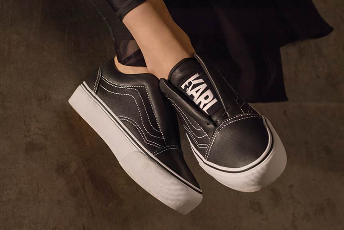 Karl Lagerfield X Vans Collection 9