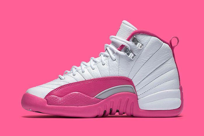 Air Jordan 12 Gs Valentines Day13