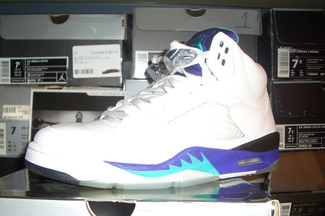 Rebecca Dahms Wmns Basketball Collection Air Jordan 5 Grape 1