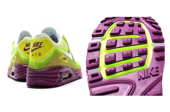 Nike Air Max 90 Lunar Bright Grape Venom Green 5