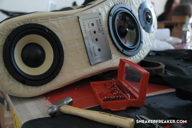 Doom Sneaker Speakers Making Of 23 1