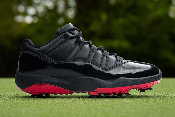 Air Jordan 11 Low Golf Safari Bred Side