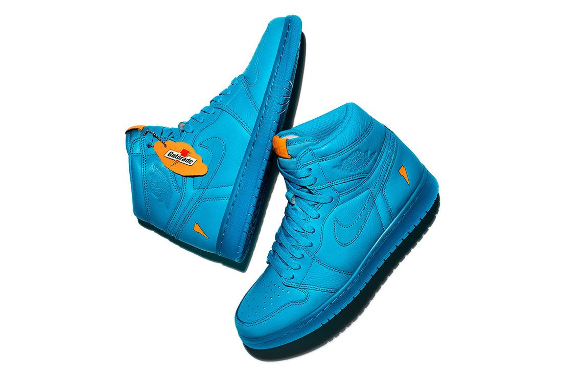 Air Jordan 1 Gatorade Pack 1