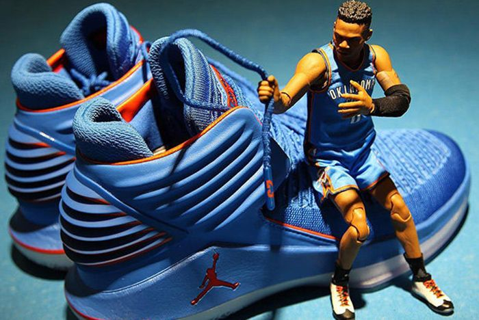 Aj 32 Why Not Figurine Sneaker Freaker