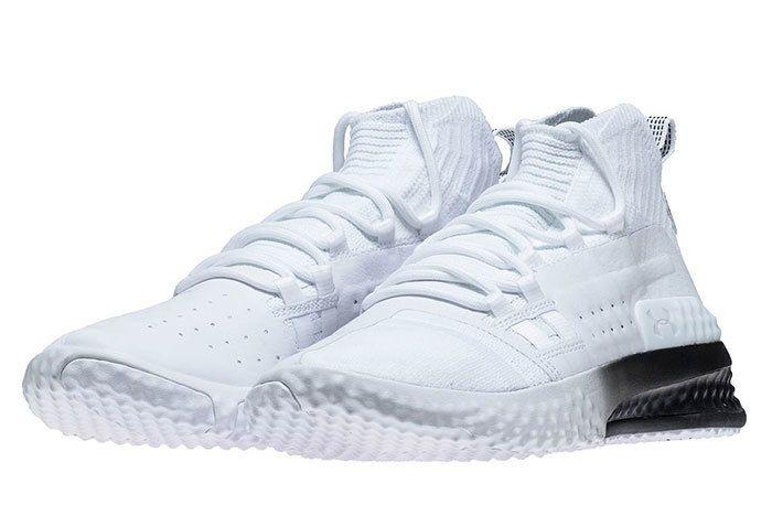 Ua Project Rock 1 White Black 4 Sneaker Freaker