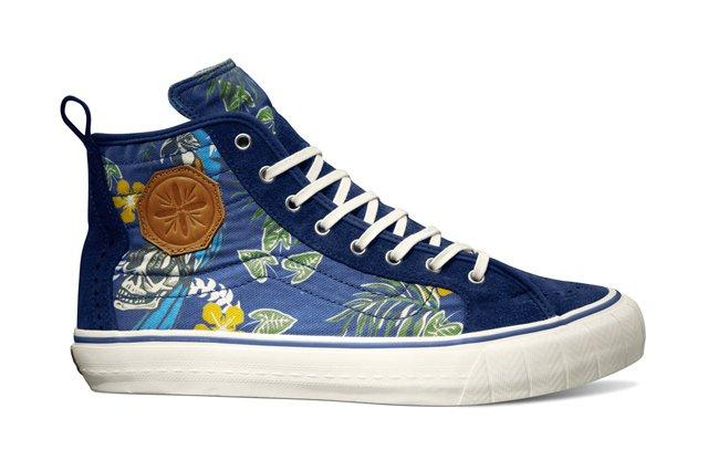 Vault By Vans Th Court Hi Lx Th Paradise Classic Blue Fall 2013