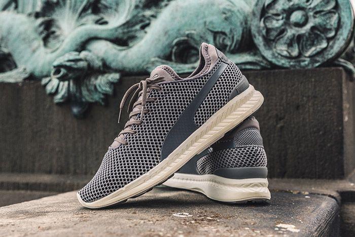 Puma Ignite Sock Knit Steel Grey 5