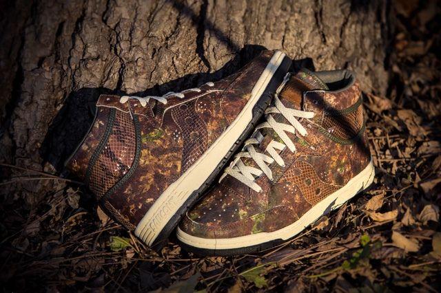 Packer Shoes Saucony Hangtime Woodland Snake 6