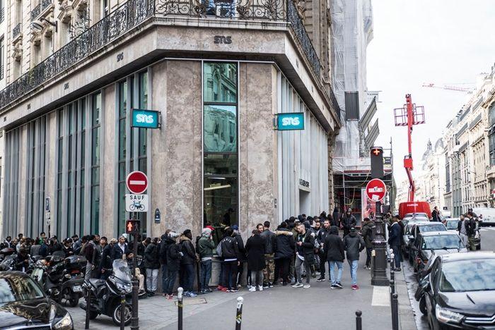 Sneakersnstuff Paris Opening Day 1