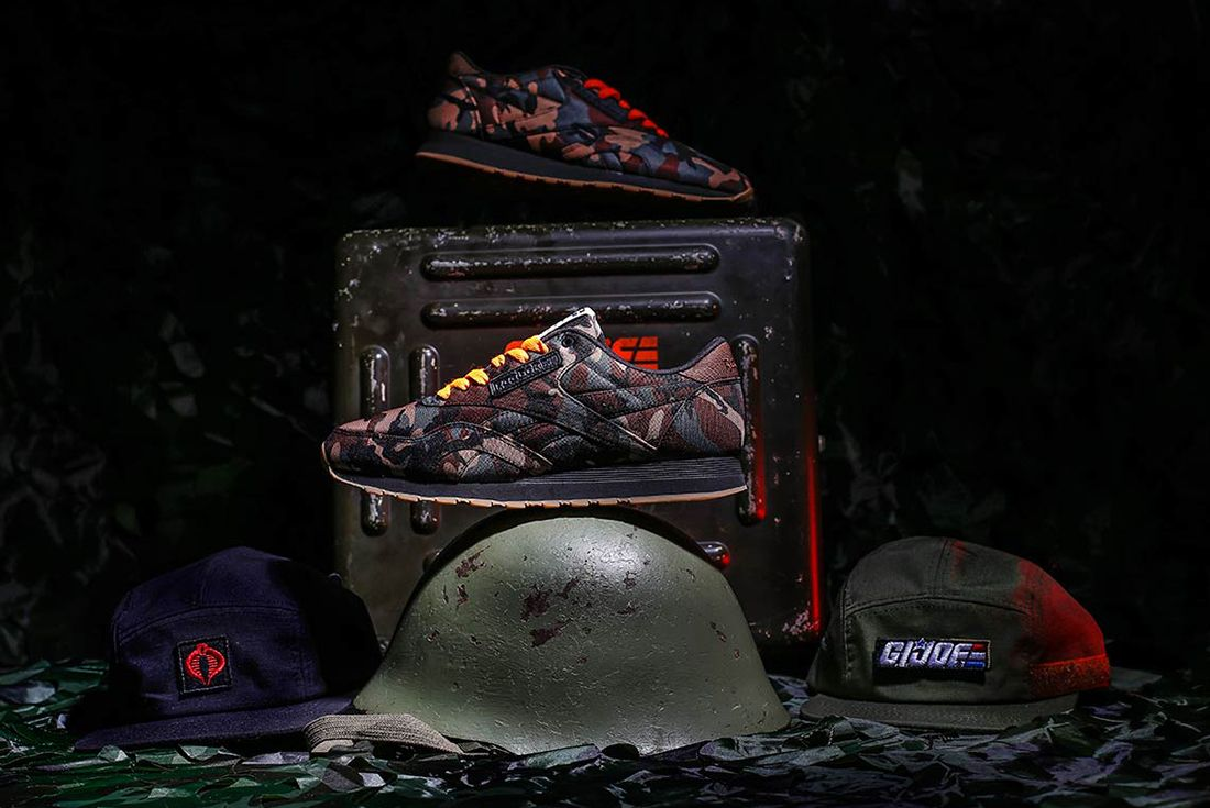 Shoe Palace X Reebok Gi Joe Classic 3