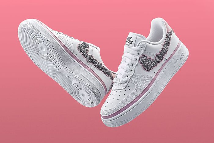 Nike Doernbecher Air Force 1 Front Full
