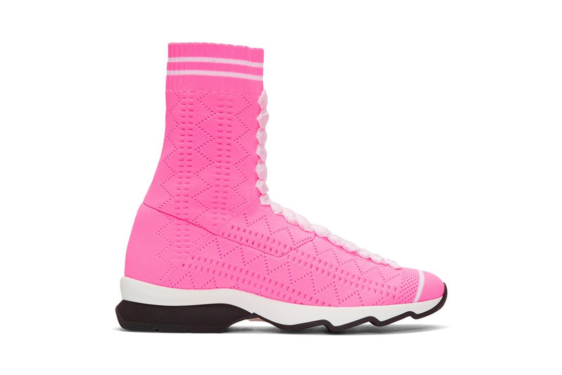 Fendi Pink Sock Sneaker Freaker 2