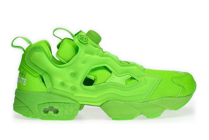 Vetement Reebok Neon Pump Green 2