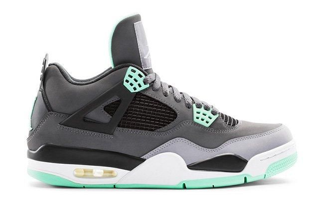 Air Jordan 4 Green Glow 3