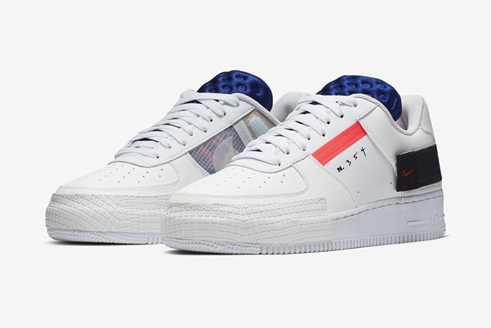 Nike N 354 Af1 Type Summit White Ci0054 100 Release Date Pair