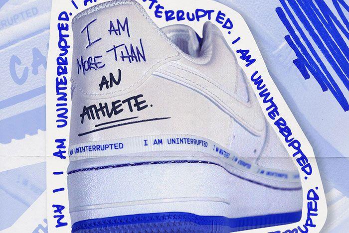 Uninterrupted Nike Air Force 1 Release Date Price 2 Heel