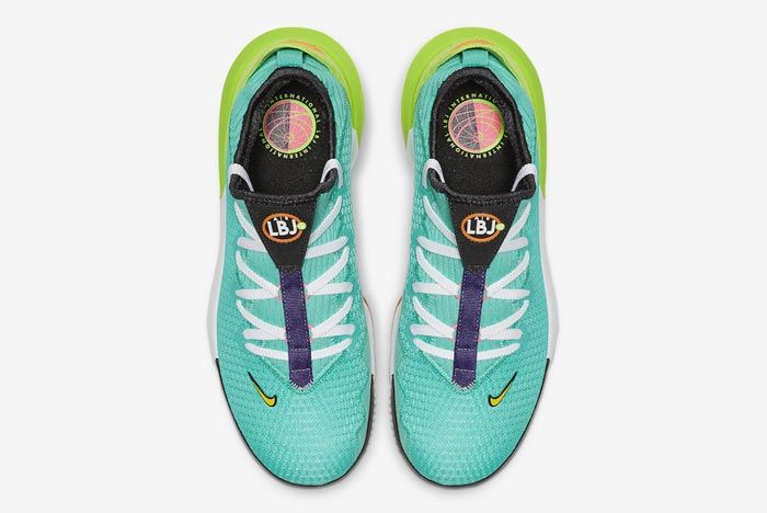 Nike Lebron 16 Hyper Jade Top