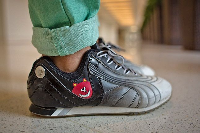 Hong Kong Sneaker Snaps Puma Black Lowcut 1