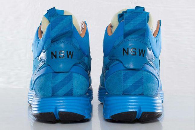 Nike Lunar Solstice Mid Sp White Label Pack Heels 1