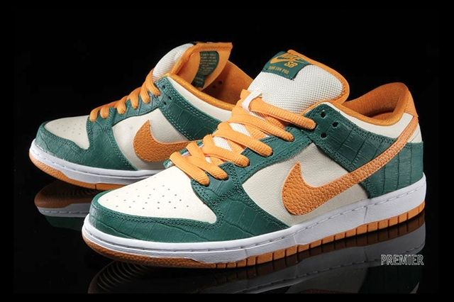 Nike Sb Dunk Low Legion Pine Kumquat 3