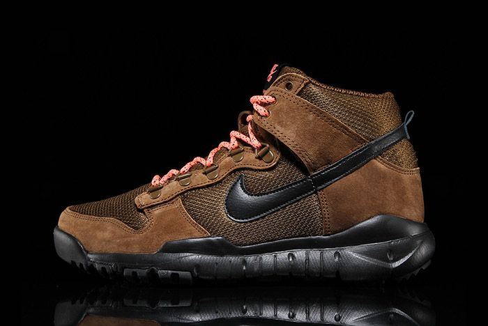 Nike Sb Dunk Hi Boot Military Brown 6