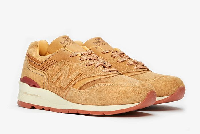 Red Wing Shoes New Balance 997 M997 Rw Front Angle