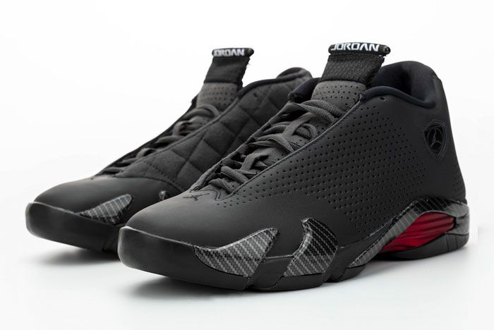 Air Jordan 14 Se Black Ferrari Toe