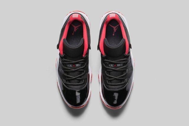 Air Jordan 11 Low Bred Bumper 5