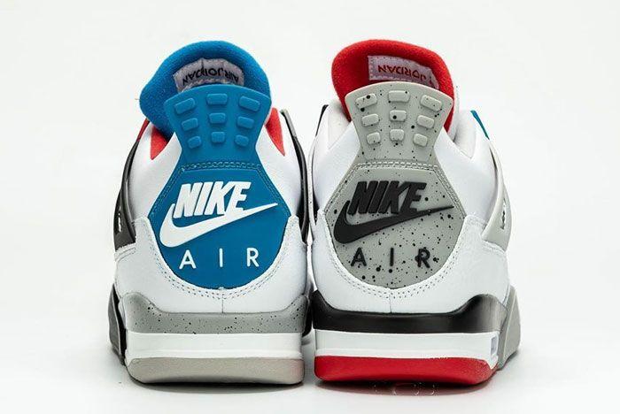 Air Jordan 4 What The Heel