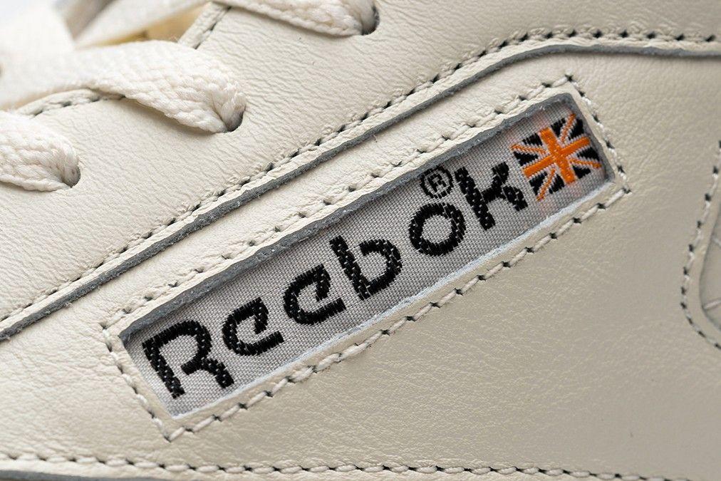 size? Reebok Club C Branding