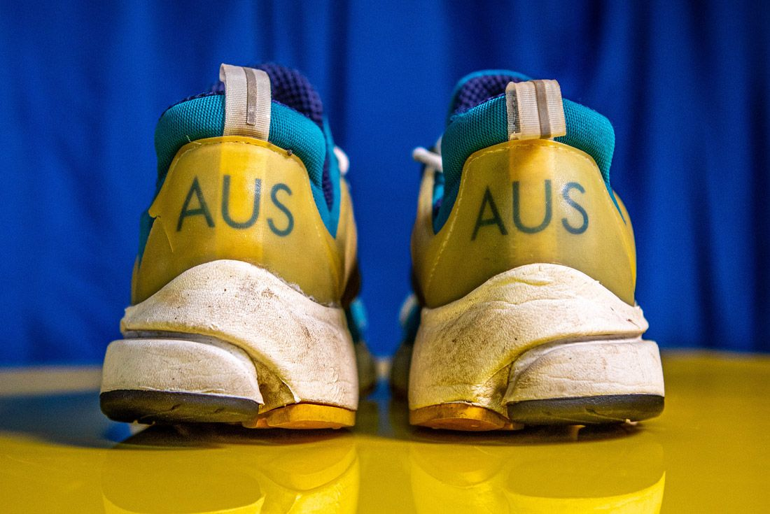 2000 Nike Air Presto Australia Olympic OG Heel