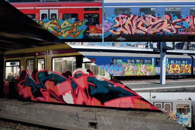 Overkill Train Graffiti 1