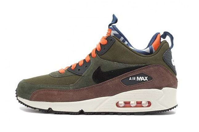 Nike Air Max 90 Prm Sneakerboot Legion Green 5