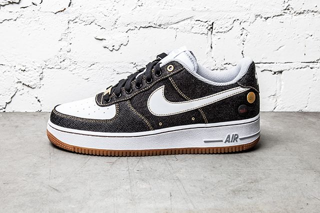 Nike Air Force 1 07 Denim Wolf Grey