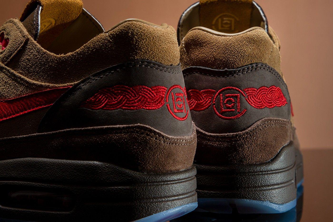 CLOT x Nike Air Max 1 'Kiss of Death - Cha' official