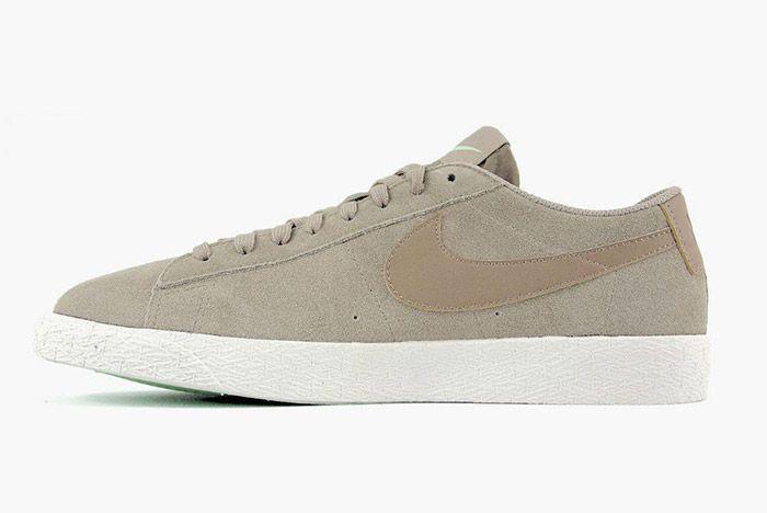 Nike Blazer Low Khaki Fresh Mint 3