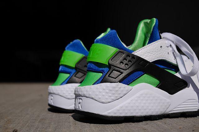 Nike Air Huarache Og Scream Green 2014 Retro 101