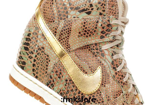 Nike Dunk Sky Hi Yots Outer Swoosh 1