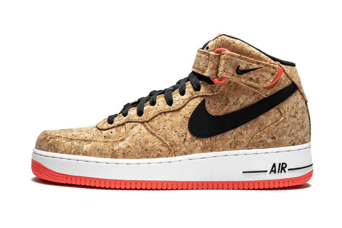 Nike Air Force 1 Mid Cork Material Matters Feature