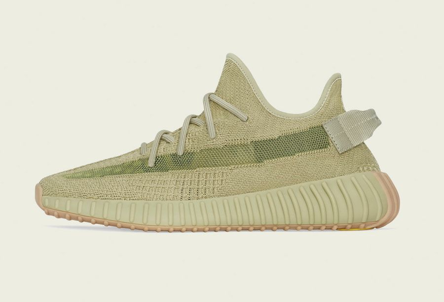 Yeezy BOOST 350 V2 Sulfur Left
