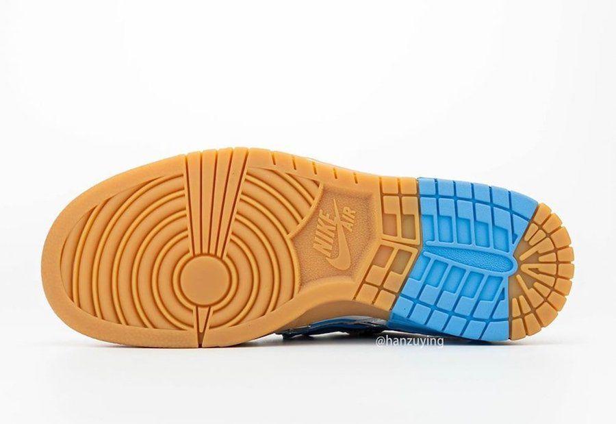 Off-White Nike Air Rubber Dunk University Blue