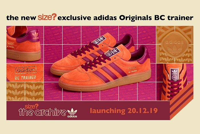 Size Adidas Bc Trainer