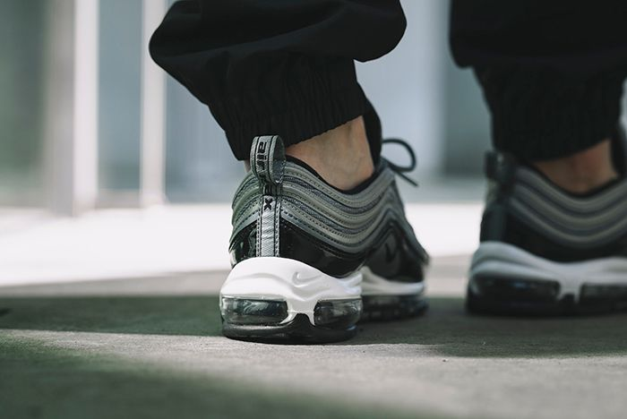 Nike Am97 Black Patent 3