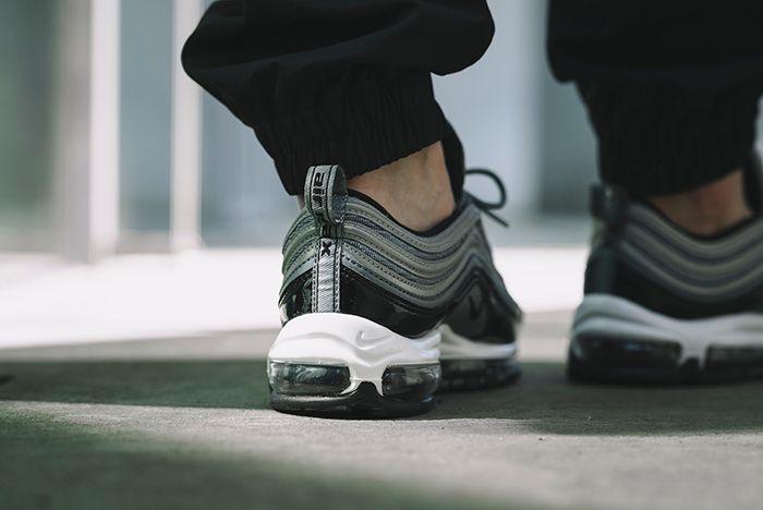 Nike Am97 Black Patent 3